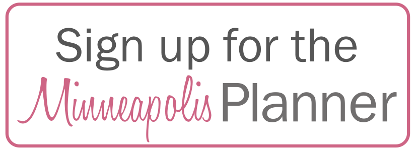 Sign Up for the Minneapolis Bride Planner