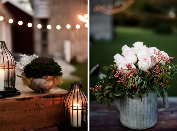 Barn Wedding Outdoor Decor