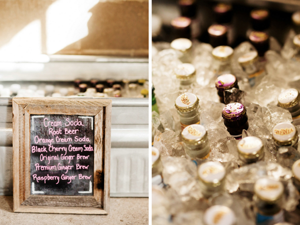 Barn Wedding Drinks