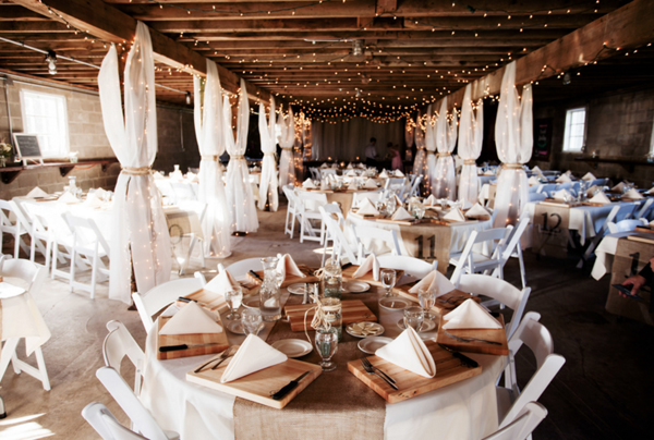 Minneapolis Barn Wedding Reception