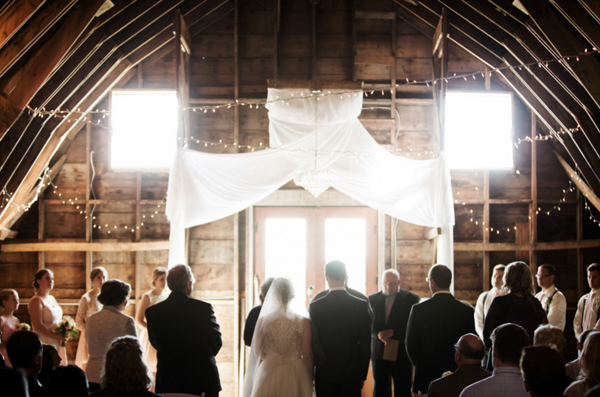 Minneapolis Barn Wedding Ceremony